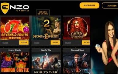 Hasta 100 euros en giros gratis en Enzo Casino