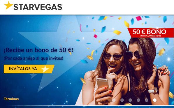 Casino Starvegas entrega 200 euros por primer depósito