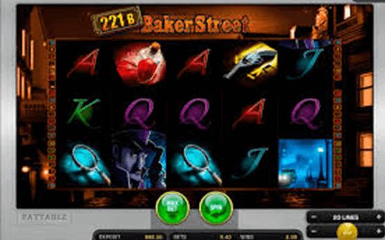 221B Baker Street tragamonedas
