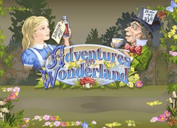 tragaperras Adventures in Wonderland