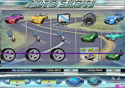 tragaperras Auto Show,