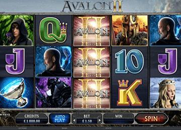 Avalon II tragamonedas