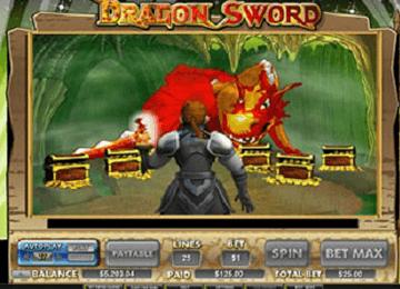 tragaperras Dragón Sword