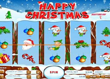 Happy Christmas tragamonedas