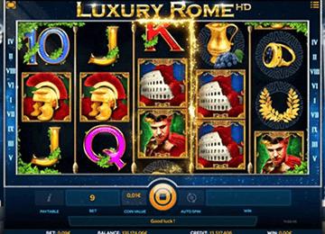 tragaperras Luxury Rome