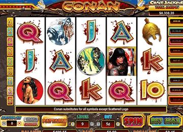 slot Conan el Bárbaro