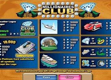 Millionaire's Club 2 tragamonedas