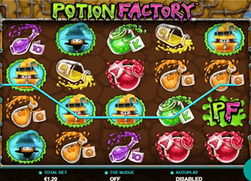 Potion Factory tragamonedas