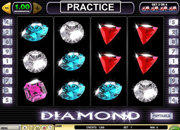 Diamond tragamonedas