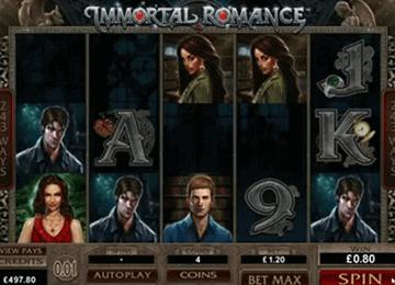 Immortal Romance tragamonedas