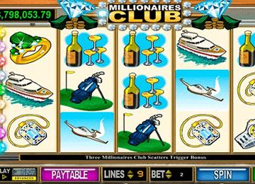 Millionaire's Club tragamonedas