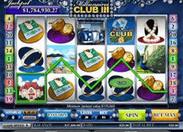 Millionaire´s club 3 tragamonedas