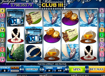 tragaperras Millionaire´s club 3