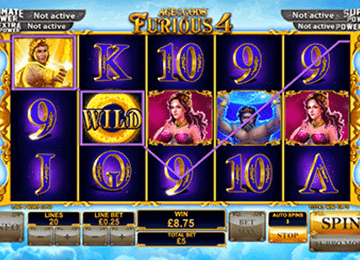 slot Age of the Gods Furious 4