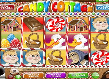Candy Cottage tragamonedas