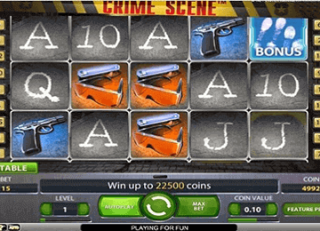 Crime Scene tragamonedas