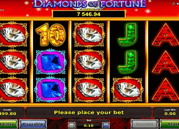 tragaperras Diamonds of fortune
