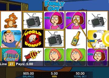 tragaperras Family Guy
