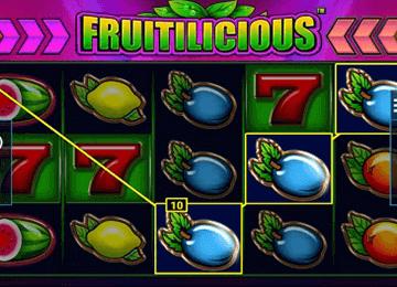 Fruitilicious tragamonedas