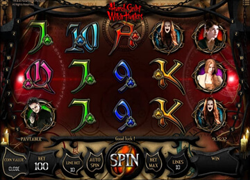 slot Hanzel and Gretel Witch Hunters
