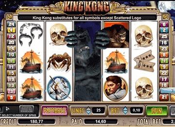 tragaperras King Kong