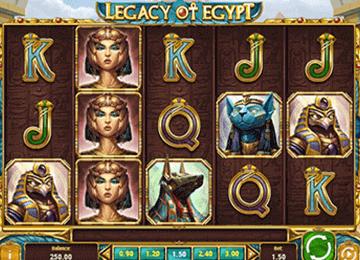 tragaperras Legacy of Egipt