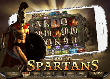 tragaperras Age Of Spartan Spin 16