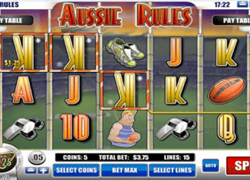 tragaperras Aussie Rules