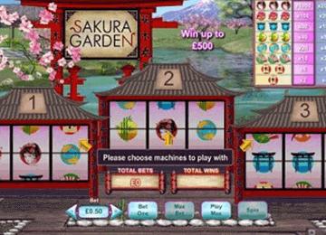 tragaperras Sakura Garden