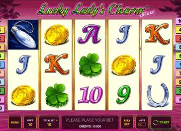 Lucky Lady's Charm Deluxe tragamonedas