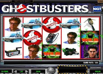 Ghostbusters tragamonedas