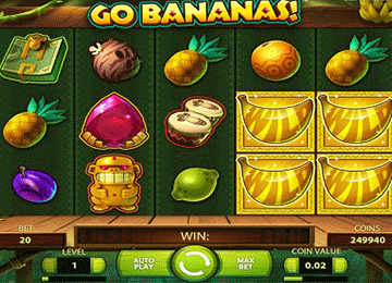 Go Bananas tragamonedas