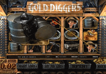 Gold Diggers tragamonedas