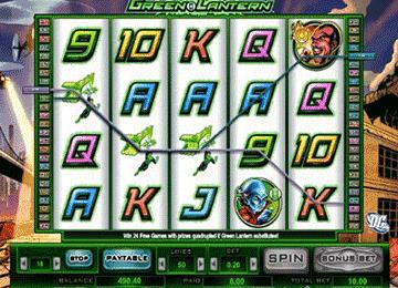Green Lantern tragamonedas
