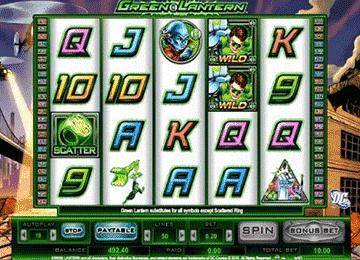 tragaperras Green Lantern