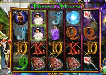 tragaperras Merlin's Millions