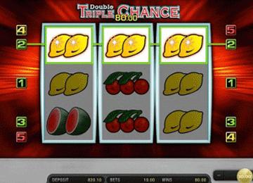 Double Triple Chance tragamonedas