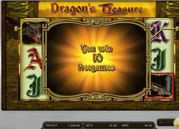 Dragon Treasure tragamonedas