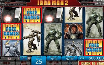 Iron Man 2 tragamonedas