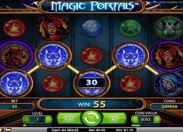 Magic Portals tragamonedas