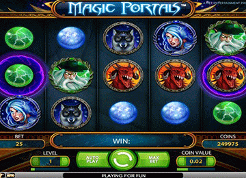 tragaperras Magic Portals