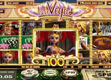 MR Vegas NJP tragamonedas