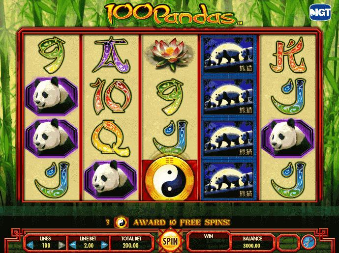 100-Pandas iframe