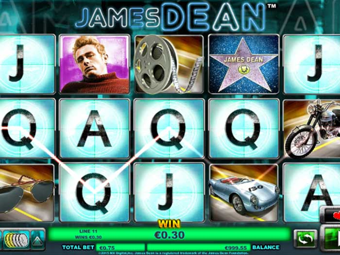 Tragaperras James Dean iframe
