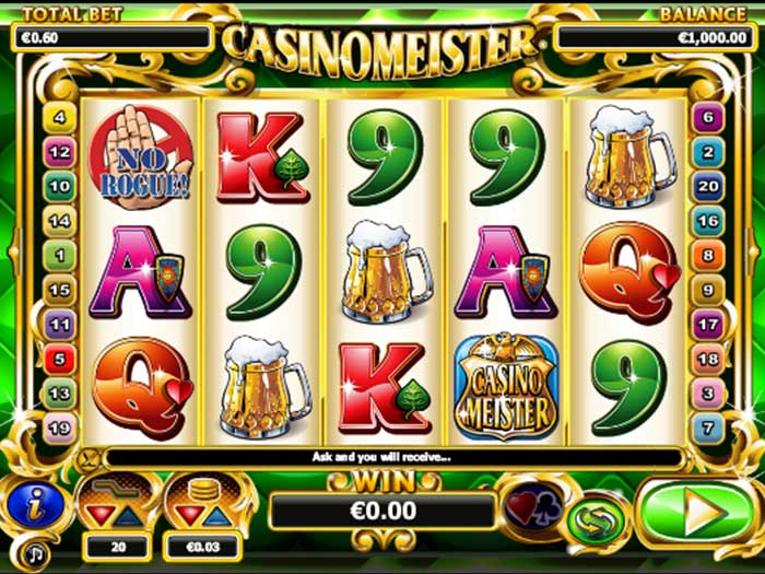 Tragaperras Casinomeister iframe