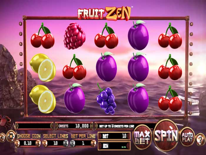 Tragaperras Fruit Zen iframe