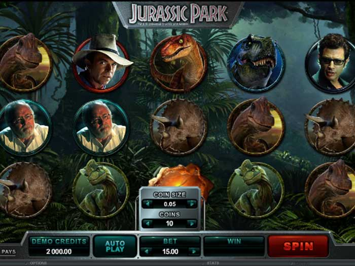 Tragaperras Jurassic Park iframe