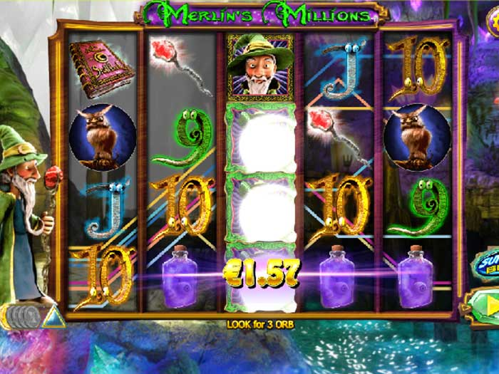 Tragaperras Merlin's Millions iframe