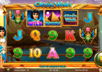 Tragaperras Cleo's Wish