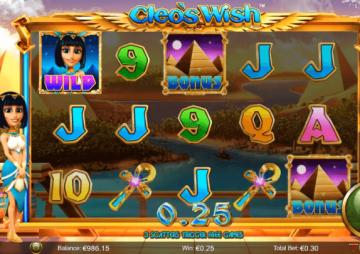 Slot Cleo's Wish